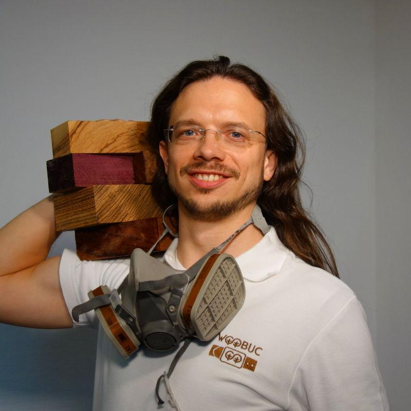 Gründer WooBuc Ledergürtel Holzgürtel